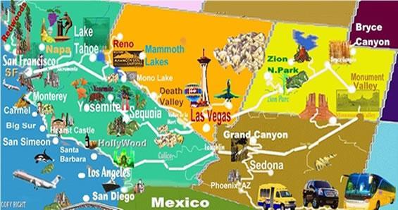 Parchi Usa Cartina.Mete D Autore